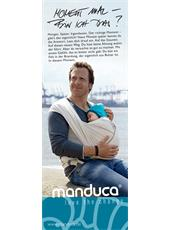 "manduca® Sling Poster 30x80 ""Moment mal..."""
