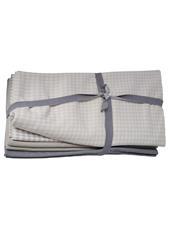 manduca® DIY fabric package grey/ Softcheck