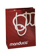 manduca® paper carrier bag red