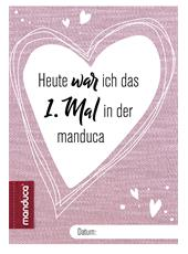 manduca® memory card rose