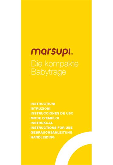 marsupi® Instruction