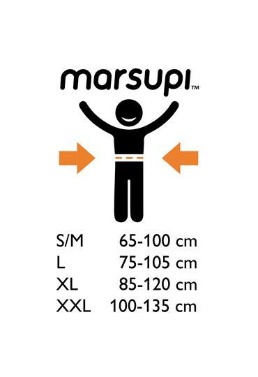 marsupi® Classic 2.0 - Grey (XXL)