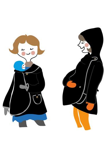 MaM® All-In-One MotherHood Coat
