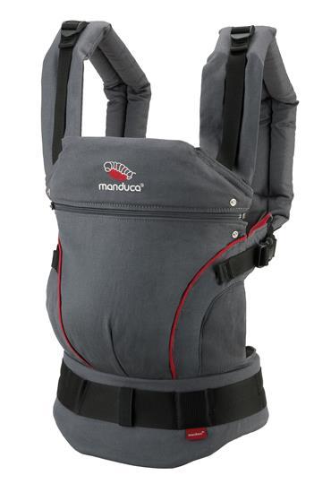 manduca® First HempCotton grey/red