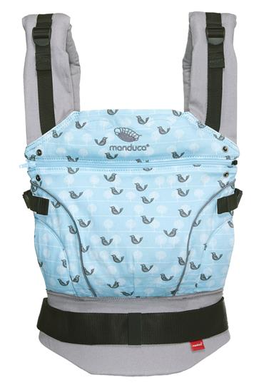 manduca® LimitedEdition Birdie SparklingBlue (B-Stock)