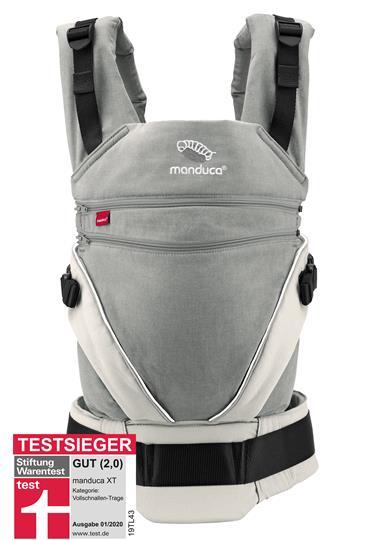 manduca® XT Cotton grey-white