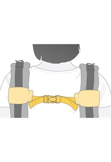 manduca® connection belt XT/First ButterflyRose