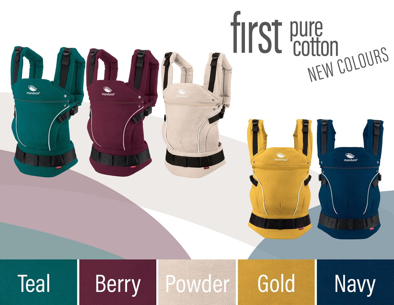 manduca® first New Colors