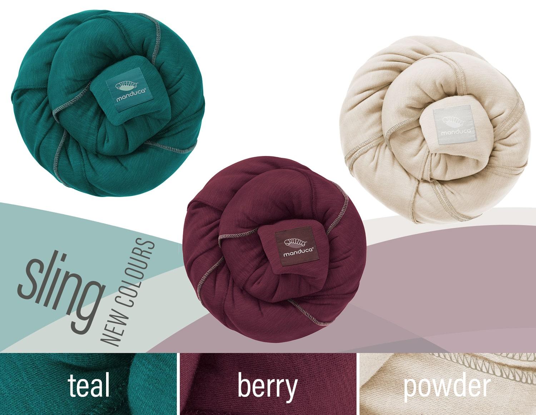manduca® sling new Colors