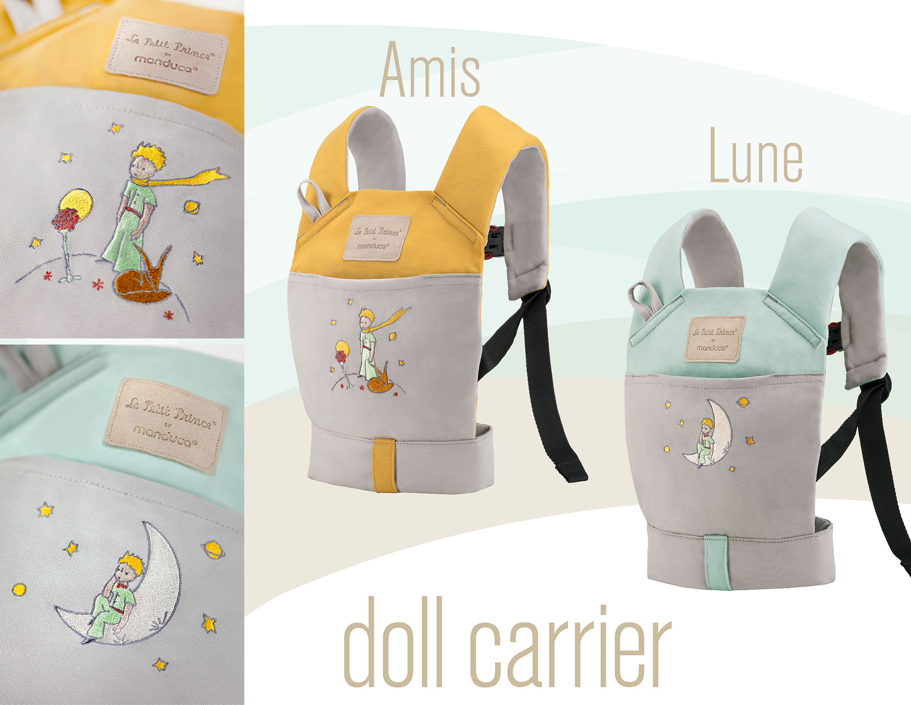 Le Petit Prince DollCarrier Amis & Lune